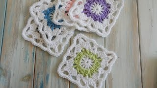 getlinkyoutube.com-How To Crochet a Vintage Granny Square