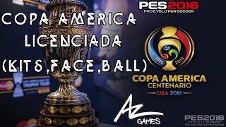 PES 2016 | Copa América Centenario Licenciada | MEGA