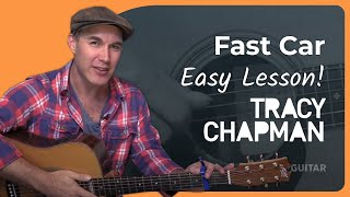 getlinkyoutube.com-Fast Car - Tracy Chapman - Easy Beginner Acoustic Guitar Lesson (BS-802) How to play guitar