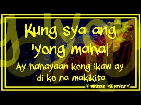 Sarah Geronimo - Kung Siya Ang Mahal - Lyrics (New Song 2011)
