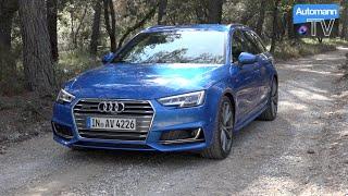 getlinkyoutube.com-2016 Audi A4 Avant 3.0 TDI (272hp) - DRIVE & SOUND (60FPS)