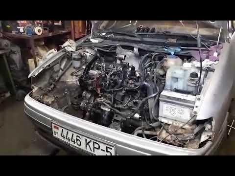 Меняли двигатель сеат Толедо двигатель 1zпервый запуск
