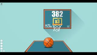 Basketball FRVR 382 points