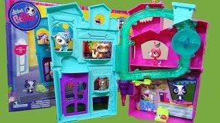 getlinkyoutube.com-Littlest Pet Shop Apartamento y Helados Brillantes Aparment and Sundae Sparkle