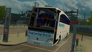 getlinkyoutube.com-ETS 2 Türkiye Haritası + Travego Otobüs Modu | Edirne-İstanbul | Isparta Petrol Turizm