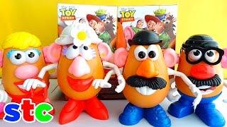 getlinkyoutube.com-Mr Potato Head Señor cara de papa clasico de Toy Story