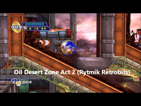 Sonic 4 Episode 2 - Oil Desert Zone Act 2 8-bit (Rytmik Retrobits) by shadow17993