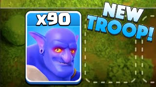 "getlinkyoutube.com-x90 NEW BOWLER! - Clash of Clans - New Update ""Bowler"" Attacks!"