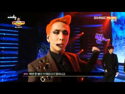 130306 Nu'est B.A.P VIXX SHINee Backstage clip showcham