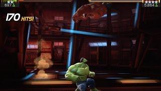 getlinkyoutube.com-Hulk vs. Red Hulk | Marvel Contest of Champions