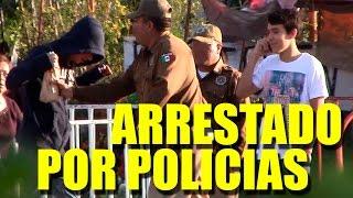 getlinkyoutube.com-Tomando alcohol enfrente de policias| Bromas 2014 | Just Maming | Pranks |