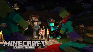 getlinkyoutube.com-Nova Série #1 !! : Minecraft PE v0.13.1 - ft Gustavo010