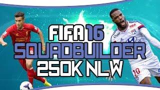 getlinkyoutube.com-FIFA 16 Ultimate Team | Squadbuilder - Lacazette & sein brasilianischer Bruder! NLW! 250k! (deutsch)