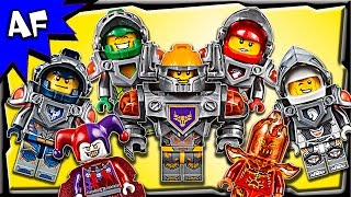 getlinkyoutube.com-Lego Nexo Knights Minifigures 2016 Complete Collection Review