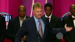"getlinkyoutube.com-1992 US Olympic ""Dream"" Team's Basketball Hall of Fame Enshrinement Speech"