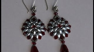 getlinkyoutube.com-Sidonia's handmade jewelry - Superduo Victorian Earrings tutorial
