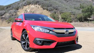 getlinkyoutube.com-2016 Honda Civic Sedan Walkaround