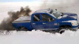 Bad ass Dodge Playing in the snow with my bros