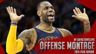 getlinkyoutube.com-LeBron James Offense Highlights Montage 2015/2016 (Part 2) - MVP MODE!