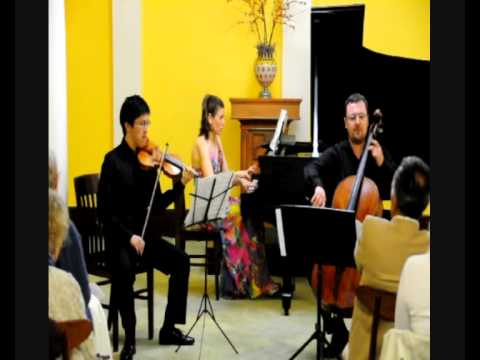 The Manhattan Piano Trio plays Ranjbaran: Shiraz Part 2