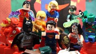 getlinkyoutube.com-LEGO Superman Vs. The Justice League