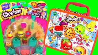 getlinkyoutube.com-Shopkins Season 3 Lunch Box Surprise with Shopkins Micro-Lite Disney Frozen ClayBuddies Princess