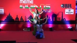 Bengali Girls spl Dance Manjeera Mall Hyderabad