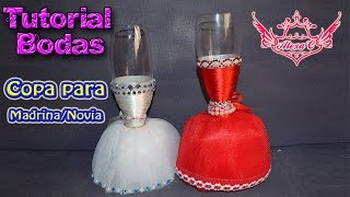 getlinkyoutube.com-♥ Tutorial: Copa de Boda para Novia/Madrina ♥