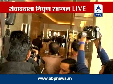 Police reach venue of Sahara press conference in Delhi