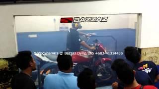 getlinkyoutube.com-Yamaha RXZ 2T Dyno Run Carburetor - Motodynamics Technology Malaysia