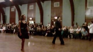 getlinkyoutube.com-Karina Smirnoff and Dmitry Chaplin - Cha Cha