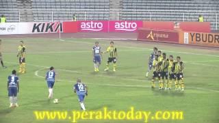 Perak (2) vs (1) KL Felda United Liga Super-19-06-2012
