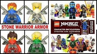 getlinkyoutube.com-LEGO® Ninjago™ Stone Warrior Armor Jay Kai Zane & Lloyd + 2016 Character Encyclopedia Page by Page