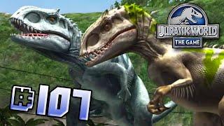getlinkyoutube.com-Indominus Rex Siblings Brawlasaurs!! || Jurassic World - The Game - Ep 107 HD