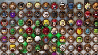 getlinkyoutube.com-LEGO Marvel Superheroes ALL CHARACTERS UNLOCKED