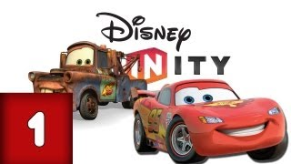 getlinkyoutube.com-Disney Infinity: Cars - Part 1 (Lets Play, Gameplay, Commentary)