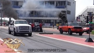 getlinkyoutube.com-CUMMINS vs. POWERSTROKE vs. DURAMAX PHOTO FINISH!!