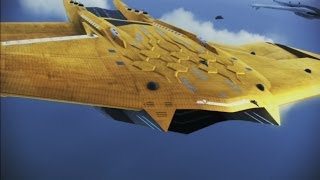 "getlinkyoutube.com-Ace Combat: Infinity "" Moby Dick Pursuit III "" Rank S (Golden Laser Aigaion)"