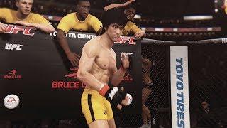 getlinkyoutube.com-EA UFC (PS4): Bruce Lee vs Urijah Faber (Featherweight) 5 Rounds - Toyota Center