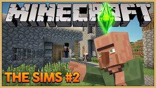 getlinkyoutube.com-Minecraft The Sims #2: Uma nova vila!