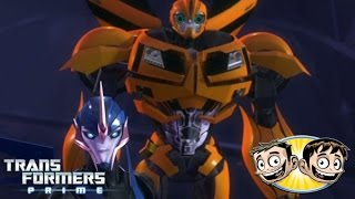 getlinkyoutube.com-Transformers Prime: The Game - Arcee Vs. Bumblebee - SoooMungry Vs. Erictron