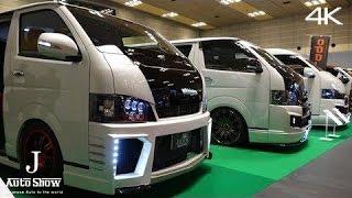 getlinkyoutube.com-(4K)modified TOYOTA HIACE booth - カスタムハイエースブース  大阪オートメッセ2016