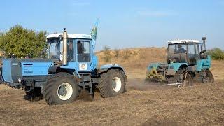 Тракторный армрестлинг ХТЗ-24021 vs ХТЗ-280Т Боевая ничья. AgroDriveShow.