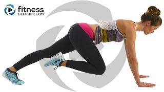 getlinkyoutube.com-At Home Cardio Workout with No Equipment - Fat Burning Cardio Intervals