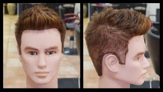 getlinkyoutube.com-Men's Haircut Tutorial Step by Step - TheSalonGuy