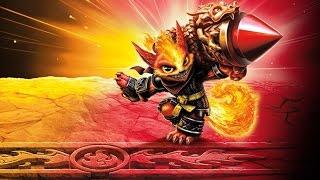 getlinkyoutube.com-Skylanders: Imaginators - Flare Wolf Gameplay