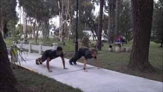 Workout with Yvonne Bon (Push-ups Variations)