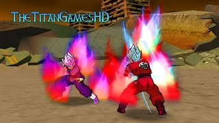 getlinkyoutube.com-Dragon Ball Z Shin Budokai 2 Mods - Goku Ssj Blue Kaioken X10 - Black Goku Ssj Rose