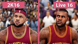 getlinkyoutube.com-NBA 2K16 vs. NBA Live 16 Graphics Comparison [FullHD][60fps]