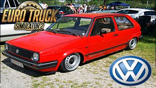 getlinkyoutube.com-Volkswagen Golf - Euro Truck Simulator 2